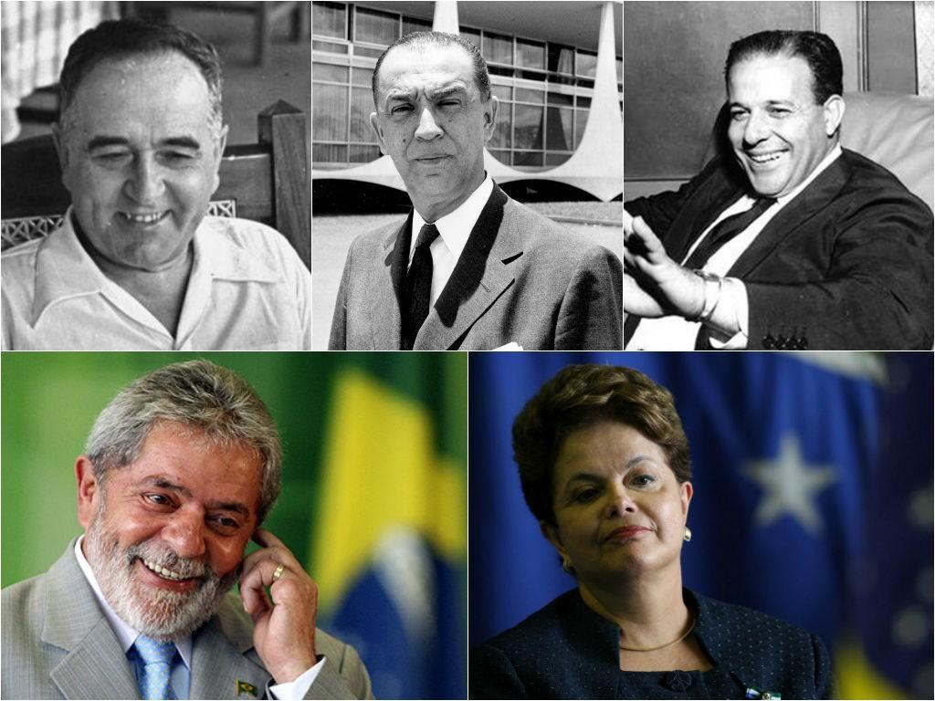 Vargas, JK, Jango, Lula e Dilma