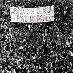 Abaixo a ditadura povo no poder